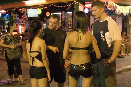 Dans les rues de Pattaya
