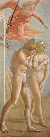 Adam et Ève chassés du Paradis, Masaccio