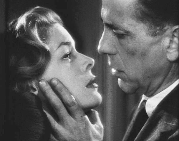 Lauren Bacall et Humphrey Bogart dans Les Passagers de la nuit (Dark Passage), 1947