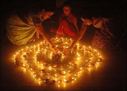 Fête hindoue de Diwali, photo Ashish Kanitkar
