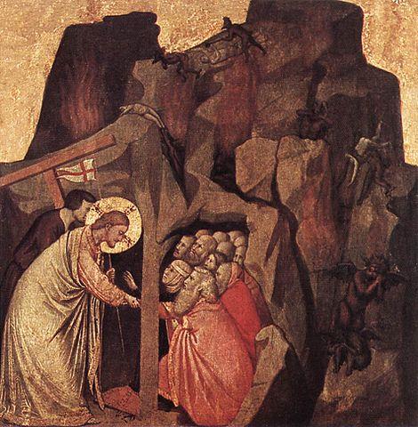 Descente dans les limbes, Giotto, peint entre 1320 et 1325