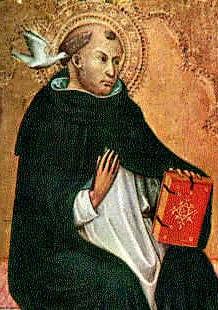 Saint Thomas d'Aquin enseignant
