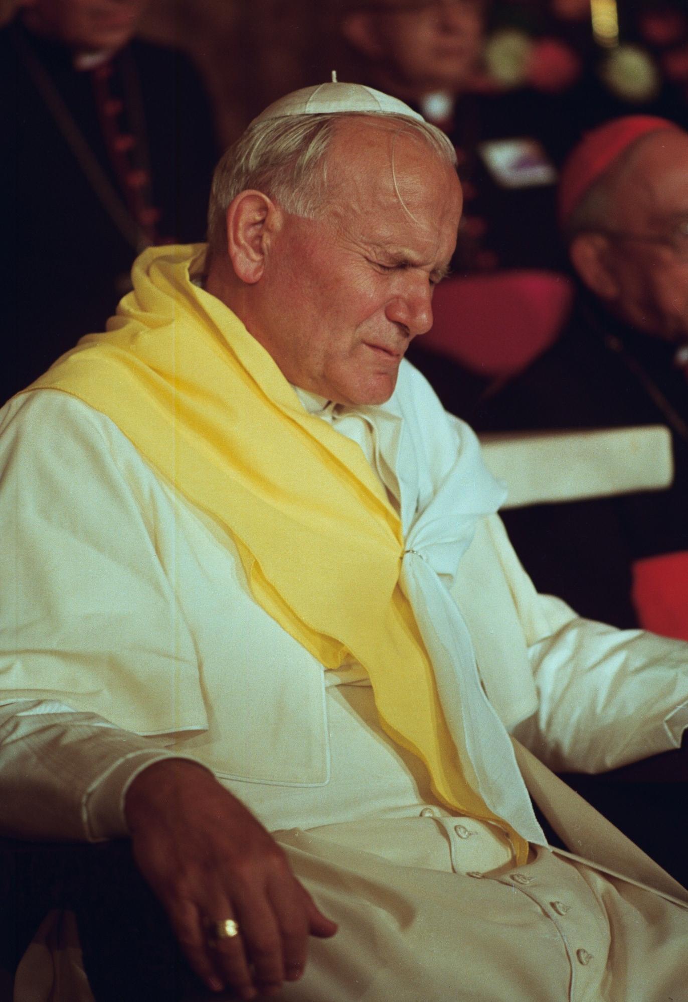 Jean-Paul II en Colombie