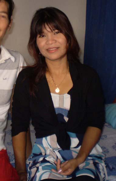 Monthita lorsqu'elle m'a rendu visite à Pattaya en 2008