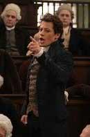 Ioan Gruffudd dans le rôle de William Wilberfoce (film Amazing Grace, 2006), qui obtint, après beaucoup d'épreuves, l'abolition du commerce des esclaves au Royaume Uni en 1807