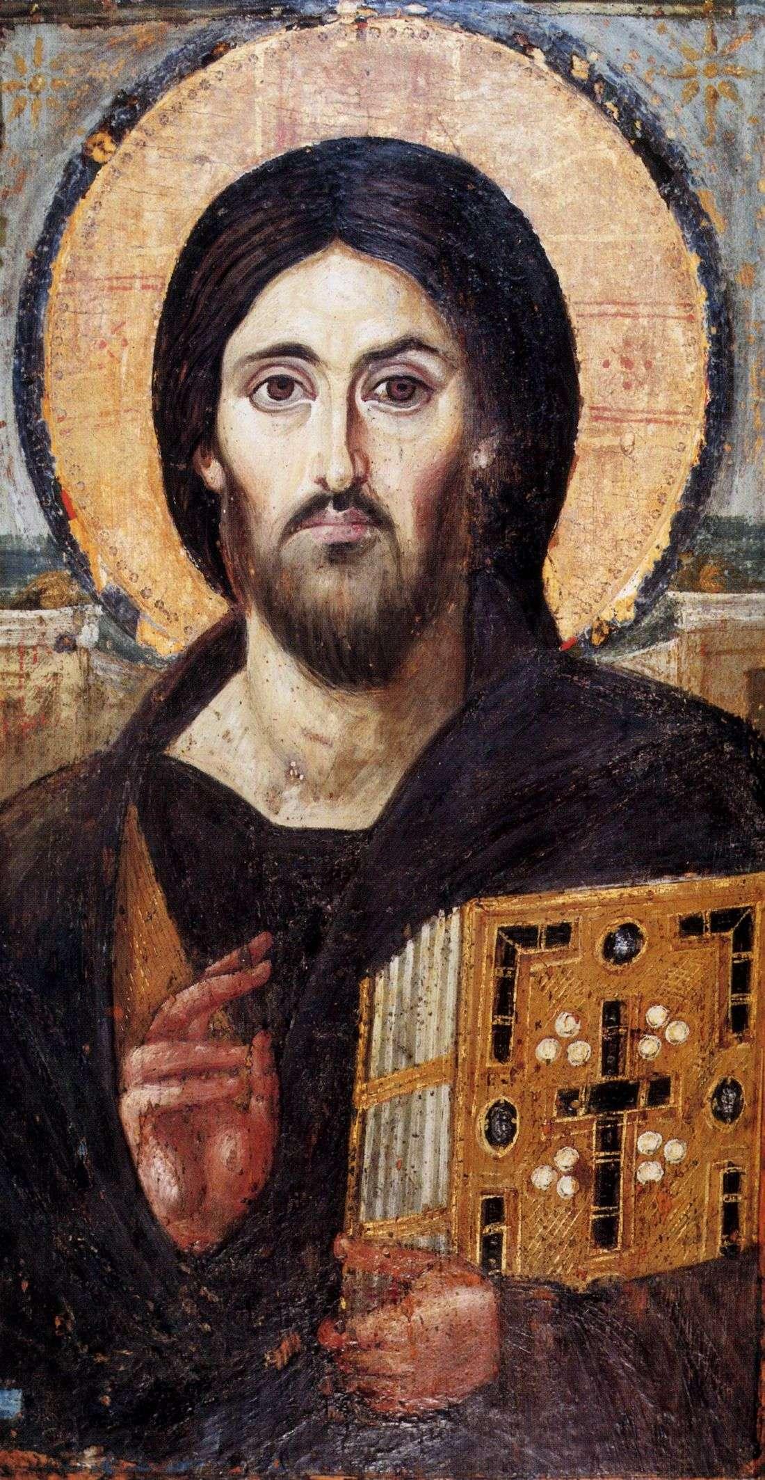 Christ enseignant - monastère Sainte Catherine - désert du Sinaï