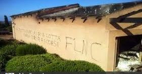 Une maison détruite en Corse