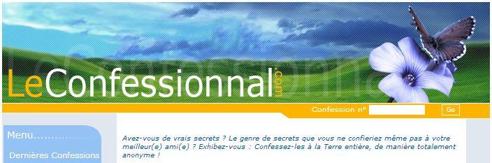 Site LeConfessionnal.com