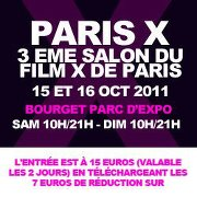 Salon du film X, parc d'expositions du Bourget