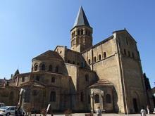 Le sanctuaire de Paray-le-Monial. Basilique du Sacré-Cœur