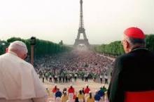 Jean-Paul II au Champ de Mars 1997