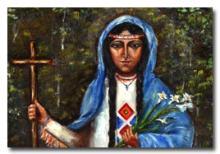 Sainte Kateri Tekakwitha, Iroquoise