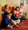 Famille en prière